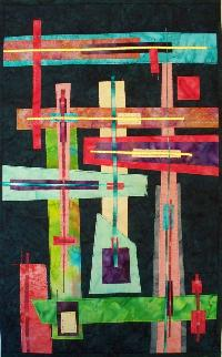 Linear Constructions 1 Textile Art