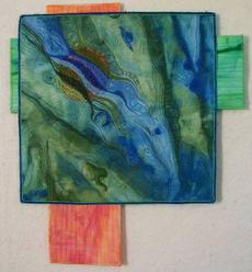 River of Hope art quilt
