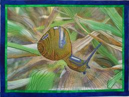 Nana's Garden Snail Photo Quilt