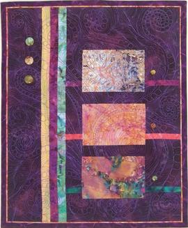Evening Shade Art Quilt